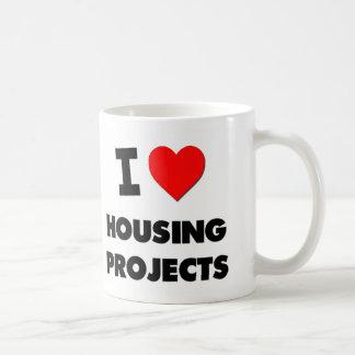 Amo complejos de viviendas tazas de café
