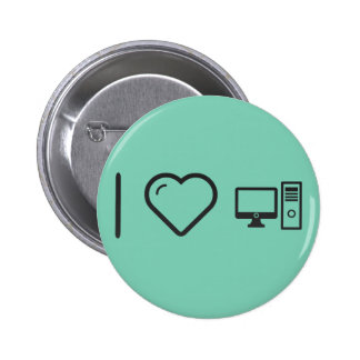 Amo Comps de escritorio Pin Redondo 5 Cm