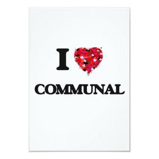 """Amo comunal invitación 3.5"""" x 5"""""""