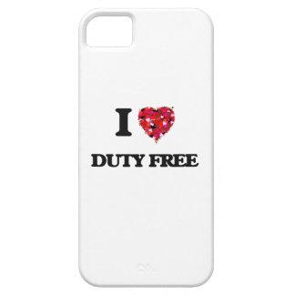 Amo con franquicia iPhone 5 fundas