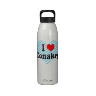Amo Conakry Guinea Botella De Beber