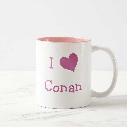 Amo Conan Taza De Dos Tonos