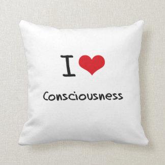 Amo conciencia cojines