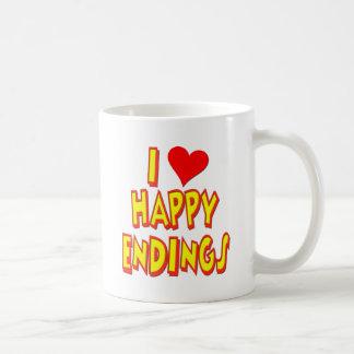 Amo conclusiones felices taza