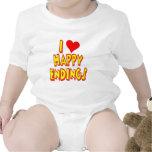 Amo conclusiones felices trajes de bebé