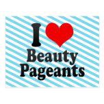 Amo concursos de belleza postal