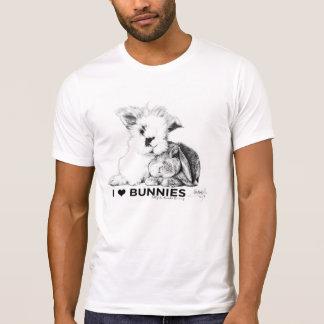 Amo conejitos camiseta