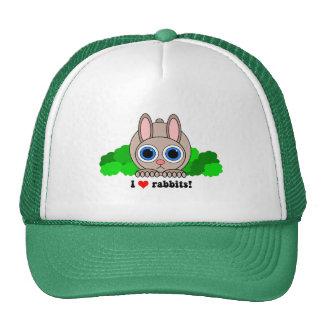 Amo conejos gorros