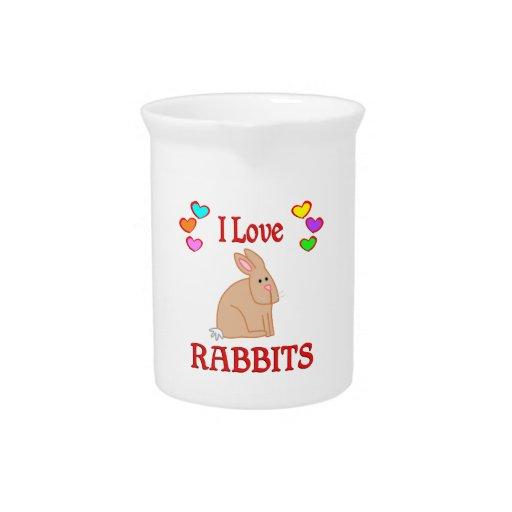 Amo conejos jarra