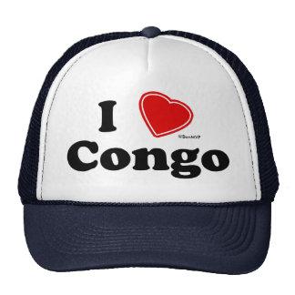 Amo Congo Gorros