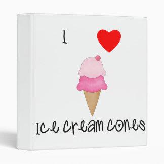 Amo conos de helado