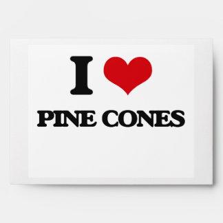 Amo conos del pino
