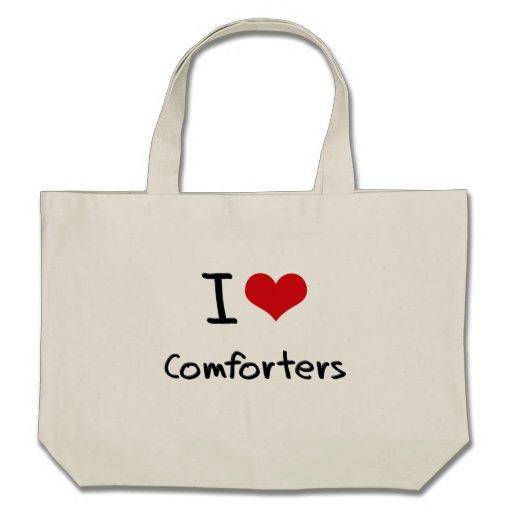 Amo consoladores bolsa lienzo