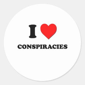 Amo conspiraciones etiquetas