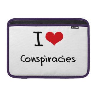 Amo conspiraciones fundas macbook air