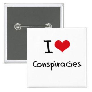 Amo conspiraciones pins
