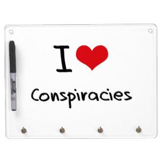 Amo conspiraciones pizarras blancas