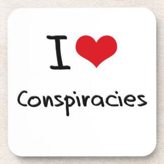Amo conspiraciones posavasos
