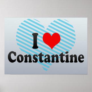 Amo Constantina, Argelia Poster