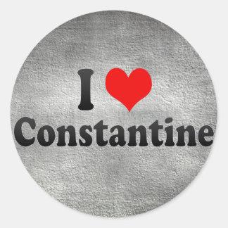 Amo Constantina, Argelia Pegatina Redonda