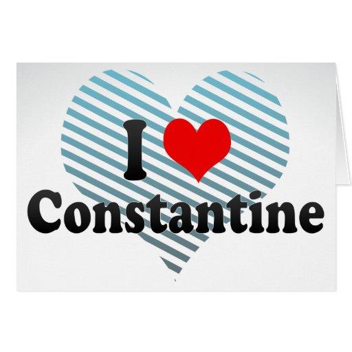 Amo Constantina, Argelia Tarjeta Pequeña