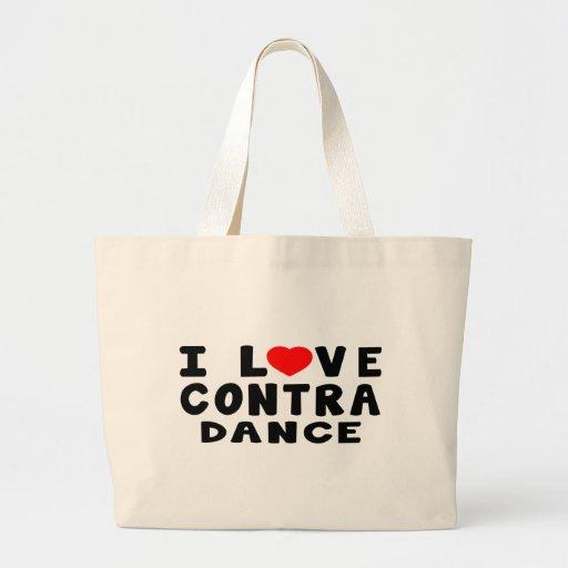 Amo contra el baile bolsas
