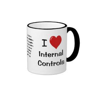 Amo controles internos - el triple echó a un lado taza de dos colores