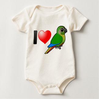 Amo Conures Marrón-hinchado Mameluco De Bebé