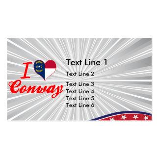 Amo Conway, Carolina del Norte Tarjeta De Visita