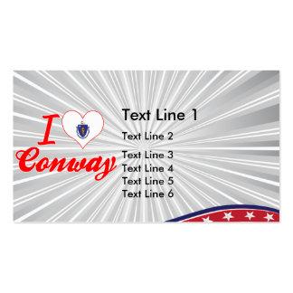 Amo Conway, Massachusetts Tarjeta De Negocio