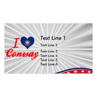 Amo Conway, New Hampshire Tarjeta De Visita