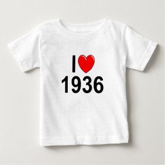 Amo (corazón) 1936 remera