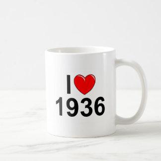Amo (corazón) 1936 taza