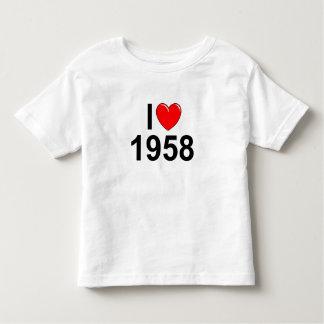Amo (corazón) 1958 remera