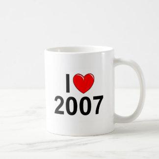 Amo (corazón) 2007 taza