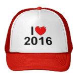 Amo (corazón) 2016 gorra