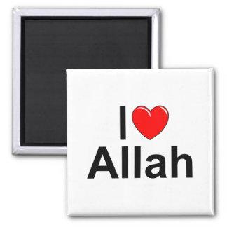 Amo (corazón) a Alá Imán Cuadrado