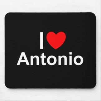Amo (corazón) a Antonio Tapetes De Ratones