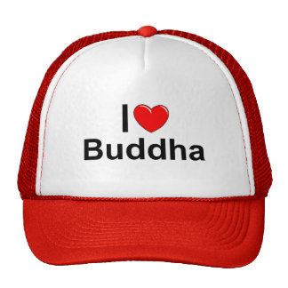 Amo (corazón) a Buda Gorro