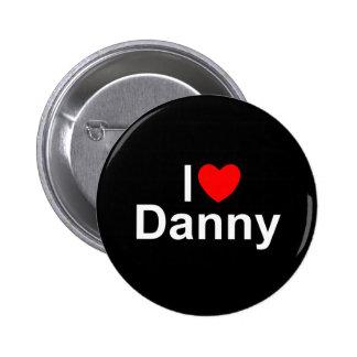 Amo (corazón) a Danny Pin Redondo 5 Cm