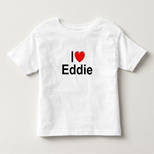Amo (corazón) a Eddie Playera De Niño