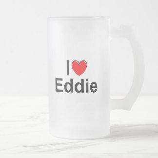 Amo (corazón) a Eddie Tazas De Café