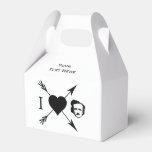 Amo (corazón) a Edgar Allan Poe Paquetes Para Detalles De Bodas