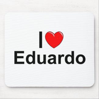 Amo (corazón) a Eduardo Alfombrillas De Ratones