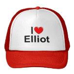 Amo (corazón) a Elliot Gorro De Camionero