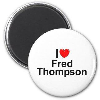Amo (corazón) a Fred Thompson Imán De Frigorifico