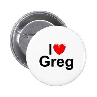 Amo (corazón) a Greg Pin
