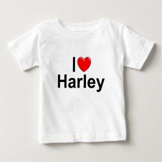 Amo (corazón) a Harley Playera