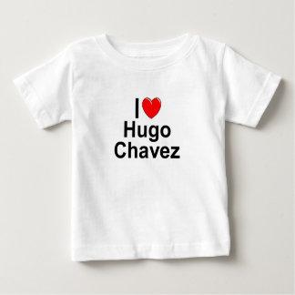 Amo (corazón) a Hugo Chavez Playera