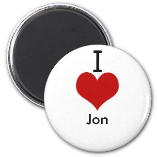 Amo (corazón) a Jon Imán Redondo 5 Cm
